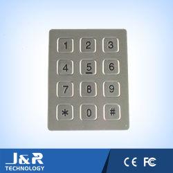Tastiera In Acciaio Inox A 7 Pin Per Telefono Clean Room, Tastiera Telefonica In Metallo Resistente Con 12 Tasti