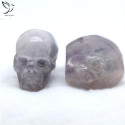 Feng Shui는 훈장을%s 자연적인 마노 수정 결정 두개골 판매를 만든다