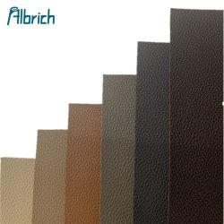 Klassieke PVC PU Leder synthetische kunstmatige imitatie Microfiber Faux Bladen Lichi Leather Fabric voor het maken van sofa's Tassen Schoenen autozitje Afdekking