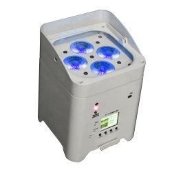 La Chine beaucoup DMX IP65 18x12W COB Lampu 30 RGBW Ampoule de feu par LED pour les boîtes de nuit