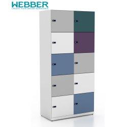Надежный и прочный шкаф для хранения с замком для управления