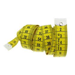 [1.5م] جسم يقيس مسطرة يخيط خيّاط إجراء شريط يخيط مقياس مزدوجة عدّاد ليّنة يخيط يقيس مسطرة