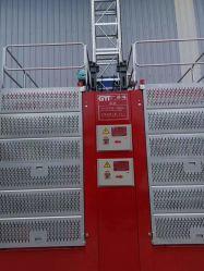 Aumento de alto ascensor edificio de la construcción de equipos elevadores limpieza