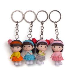 Hot Sale Maak je eigen Design Mini Cute Doll Bag Sleutelhanger souvenir sleutelhanger set voor Girl