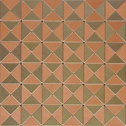 Metallo Mosaico alluminio piastrelle parete decorazione cucina