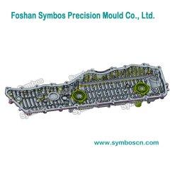 정밀 사출 금형 HPDC 알루미늄 금형 자동 부품용 스티어링 기어 시리즈 변속기 하우징/변속기 케이스 새로운 에너지 라디에이터 하우징