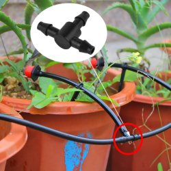 Widerhaken Female Socket Adaptor für Irrigation System Mini Tubing Pipe