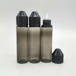des Haustier-60ml Plastik elektronische Zigaretten-flüssiger Öl-der Flaschen-V3