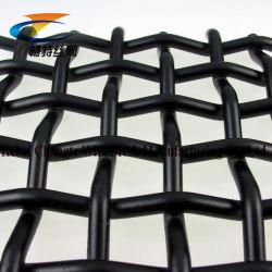L'acier carré serti High-Carbon Wire Mesh pour l'écran de vibration