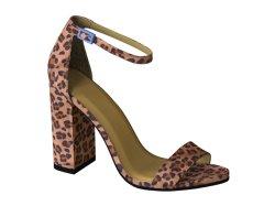 Knöchel-Ferse-Dame-Strappy Faltenbildung-Sandelholz-Schuhe der Frauen