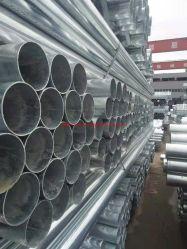 Tianchuang andaimes personalizados usados médios a quente de aço galvanizado tubo na Rodada Norma BS1387, ASTM A500, ASTM A795, ASTM A53, EN10215