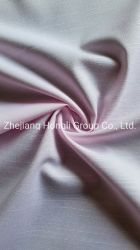Prodotto intessuto alta qualità del ringrosso della camicia di 48.5%Bamboo 48.5%Polyester 3%Spandex con buon Handfeel