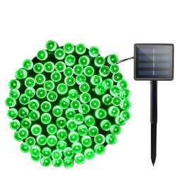 Variedade de caracteres LED solares acende as luzes de Natal Solar Exterior Fadas exterior à prova de luzes de String para jardins, residências, casamentos, festas, cortinas e no exterior