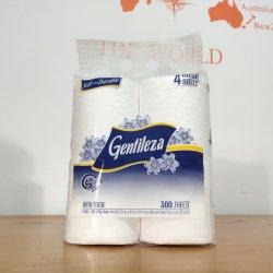 Panamá suave de Fábrica Personalizada repujados 2 capas de papel higiénico