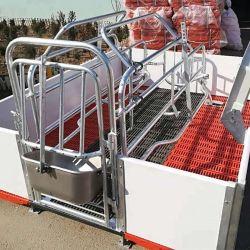 Cochon de galvanisation à chaud de la gestation Crate ét cage pour la vente