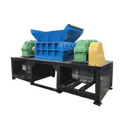 Plástico de doble eje Shredder / usa máquina de reciclaje de residuos de plástico / Textil Shredder