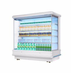 Affichage de supermarché Multideck Open-Front réfrigérés Cabinet pour légumes fruits