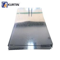 Dureza programável de alta qualidade Ferro Chapa laminada a frio Chapa de Aço Galvanizado