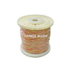 Collegare a temperatura elevata con l'alto tipo di cavo della termocoppia dell'isolamento della vetroresina del silicone K 2*0.711mm
