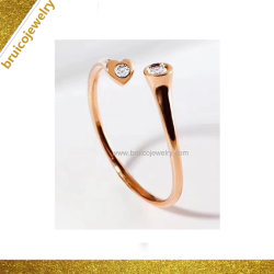 Bijoux fantaisie bracelet en argent le brassard ouvert Bracelet Bangle irrégulière