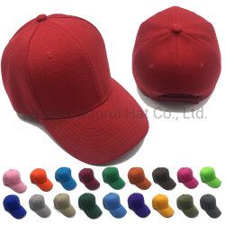 Auf lager unbelegter Baseball-Acrylschutzkappen-Sport-Hüte