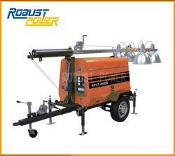 4*240W LED Mobile Diesel Industrial TORRE DE LUZ CON EL GENERADOR