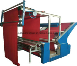 Largeur ouvert ce tissu tricoté en cuir automatique PP Film PE Edge-Align comptant un tissu léger enroulement de laminage de pliage de tests de contrôle d'inspection de la machine de mesure