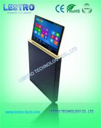 매우 호리호리한 LCD 모니터 상승 지능적인 가변 편평한 위원회 책상 해결책