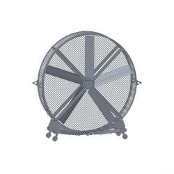 De draagbare Ventilator van de Luchtkoeling van de Tribune van de Ventilator van de Vloer Op zwaar werk berekende Industriële
