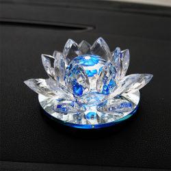 Vidro cristal artesanato Lotus de recreio para decoração