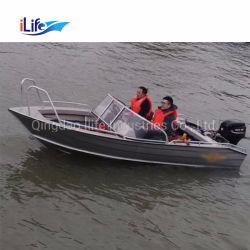Ilife алюминиевых лодок Panga Bowrider Джон спасения электрический двигатель рыболовства опознанное ими прибрежных рыбных яхт катера для продажи