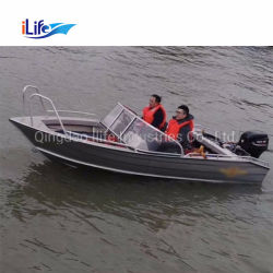 Aluminio Bowrider Ilife Jon barcos Panga Pesca eléctrica de rescate de la cabina de motor yate barco crucero pesca en alta mar en venta