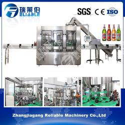 Célèbre marque complète de machines de remplissage de bouteilles en verre de bière