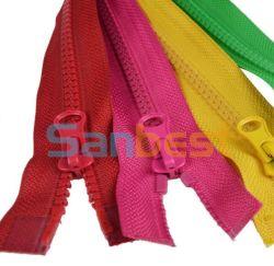 100% Qualität Fashion Resin Zipper für Bags