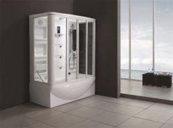 Monalisaの渦のたらいの蒸気のサウナの組合せのシャワー室(M-8239)