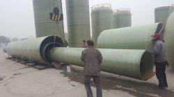 El FRP, GRP, tubo de alta presión de fibra de vidrio para el suministro de agua
