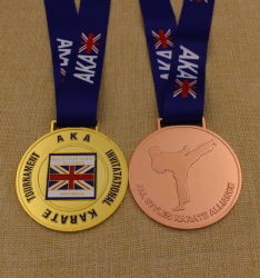 Medaglia Al Karate Di Metallo Per Regali Di Alta Qualità (Kq-Jp-12)