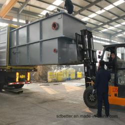 Flottation à air clarificateur des eaux usées de la machine de traitement de l'eau appareil