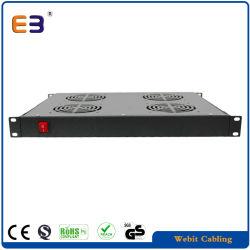 Unità ventola montabile in rack con switch per reti a 4 ventole