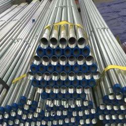 ASTM A53/BS1387は熱い浸された電流を通された鋼管に通し、つないだ