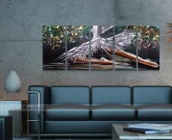 Het Olieverfschilderij van Metal van de danser voor Home Decor (CHB601502)