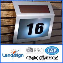 La lumière solaire fabricants Numéro de la maison solaire de signer l'énergie solaire de type d'éclairage Lampe à LED série Xltd-910 Numéro de la maison solaire