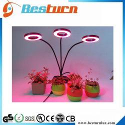 15W wachsen runde volle Hauptpflanze des Spektrum-LED Licht