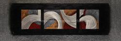 تجريديّ حديثة ألومنيوم [رليفوس], [3د] جدار فنيات