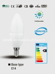 Возможность регулировки яркости светодиодная свеча C37-Sbl
