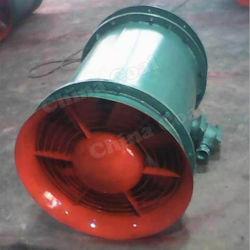 Ventilador de Exaustão Axial Disrotatory mineira com Túnel Sillencer ventilador axial