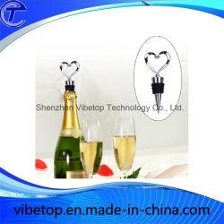 Nuovo tappo per bottiglie in lega di zinco con tappi per vino