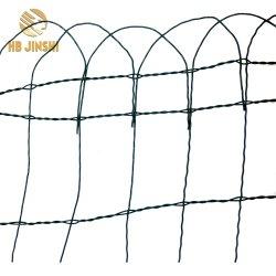 250cm x 65cm de canto de malla de valla de jardín de césped de la cadena de cable de la Frontera