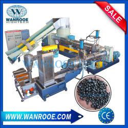 De Vlok van het Afval PP/PE/HDPE/LDPE van de Ring van het water/Geweven de Film van de Landbouw van het Schroot/Raffia/Cement/het Winkelen Zak die de Plastic Machine van de Granulator van de Korrel/van de Korrel recycleren