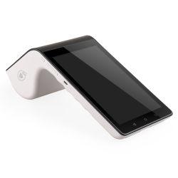 2 Berührbare Bildschirme tragbares POS-Terminal Android Smart POS-Gerät PT7003 mit Barcode-Scanner NFC MIFARE Card Reader PT7003